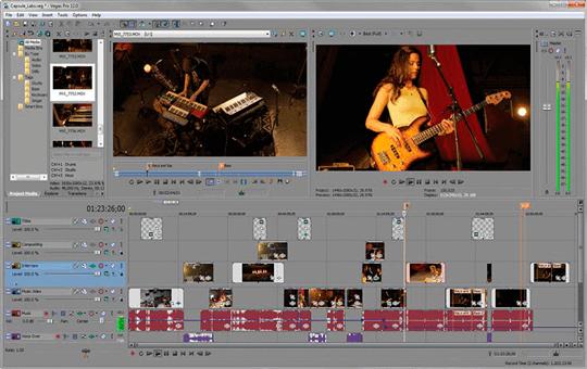 скачать программу для монтажа видео Sony Vegas Pro - фото 7