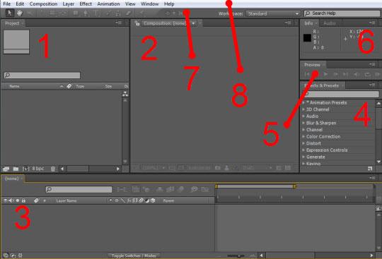 Эфект анимации блика - Работаем в Adobe After Effects