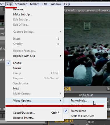 Как сделать стоп-кадр в premiere pro 746